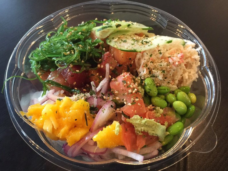 Poki bowl san francisco poki time for Aloha asian cuisine